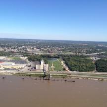 Across Mississippi River
