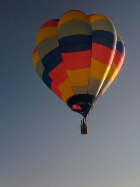 Balloon Test Ride