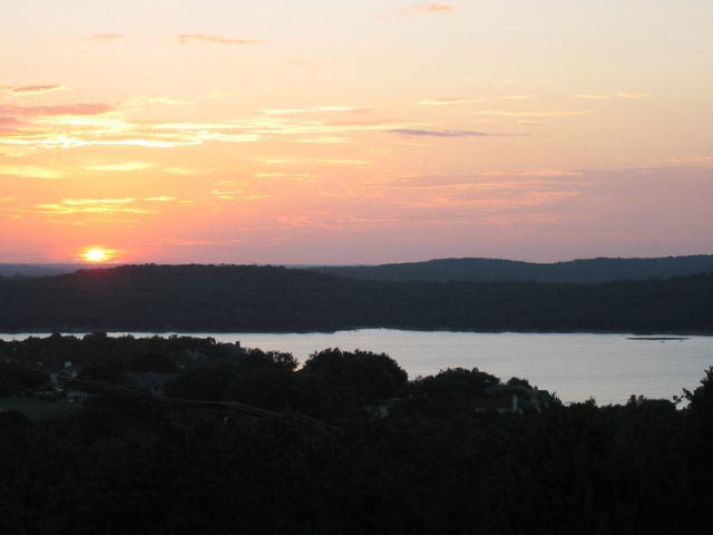 Lake Travis at Sunset