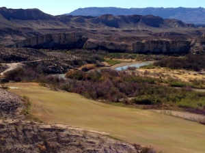 Rio Grande on Mexican border