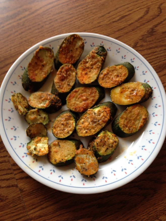 Oven-Baked Parmesan Zucchini